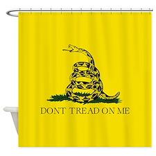 Gadsden Flag Shower Curtain