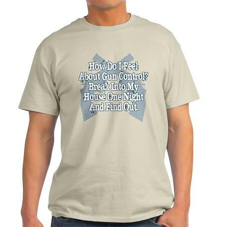 gun control blk T-Shirt
