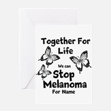 Personalize Melanoma Greeting Card