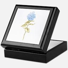 Unique Hydrangea Keepsake Box