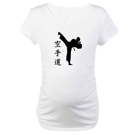 Karate Kung Fu Maternity T-Shirt
