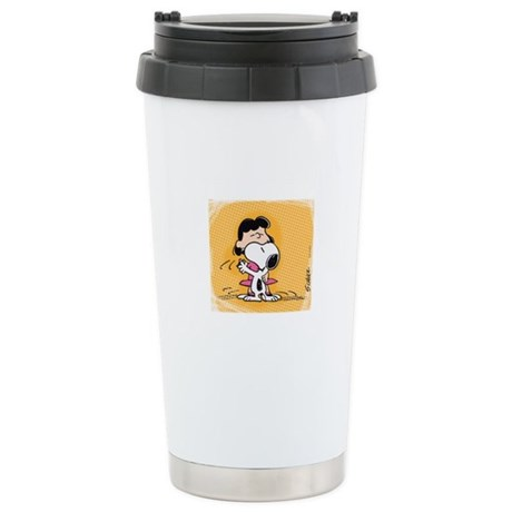 Dancing Lucy Stainless Steel Travel Mug