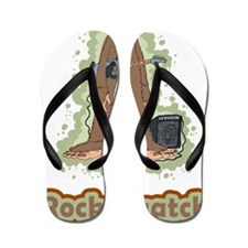 Rocksquatch Flip Flops