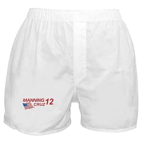 Manning/Cruz 2012 Boxer Shorts