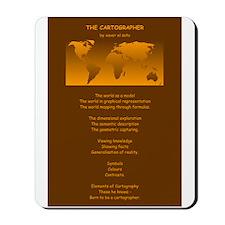 The Cartographer: Mousepad