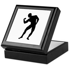 Bodybuilding gym Keepsake Box