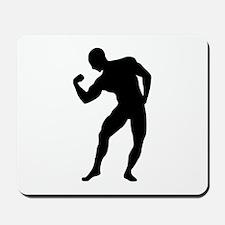 Bodybuilding gym Mousepad