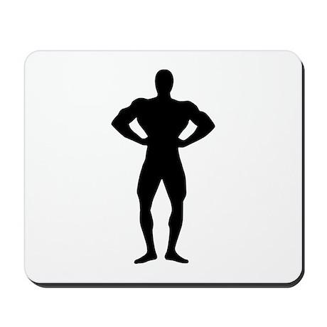 Bodybuilding sports Mousepad