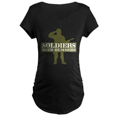 Soldiers Need Hummers T-Shirt