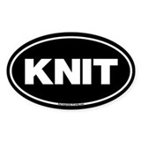 Knitting Bumper Stickers