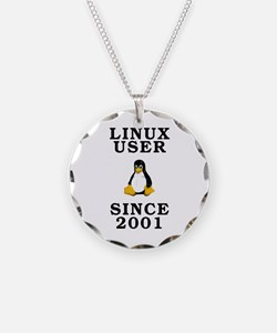 Linux user since 2001 - Necklace