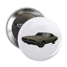 "1968 GTO Nightshade Green 2.25"" Button"
