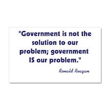 Ronald Reagan Government Quot Car Magnet 20 x 12