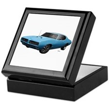 1968 GTO Meridian Turquoise Keepsake Box