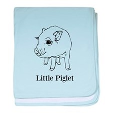 little piglet baby blanket