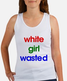 White Girl Wasted Women's Tank Top