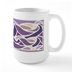 Lavender Sunset Wave Mug
