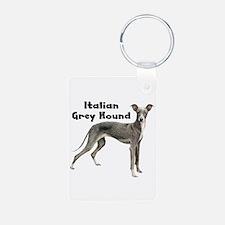 Italian Greyhound Keychains