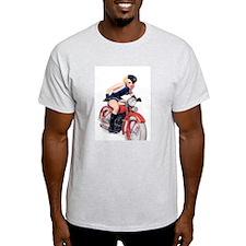Motorcycle Girl T-Shirt