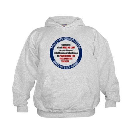 Oppose The HHS Mandate Kids Hoodie