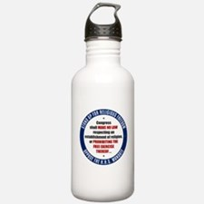 Oppose The HHS Mandate Water Bottle