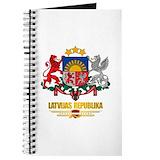 Latvian Journals & Spiral Notebooks