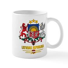 """""""Latvia COA"""" Mug"""