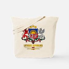 """""""Latvia COA"""" Tote Bag"""