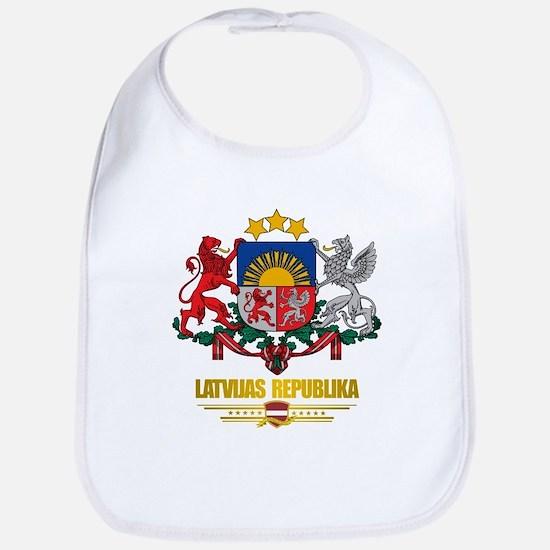 """""""Latvia COA"""" Bib"""