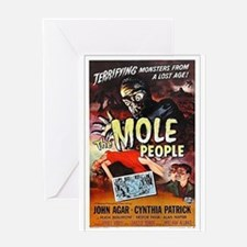 The Mole People Greeting Card