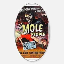 The Mole People Sticker (Oval)