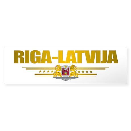 """""""Riga"""" Sticker (Bumper)"""