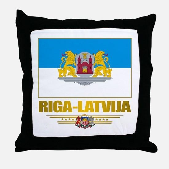 """""""Riga"""" Throw Pillow"""