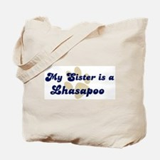 My Sister: Lhasapoo Tote Bag