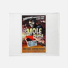 The Mole People Throw Blanket