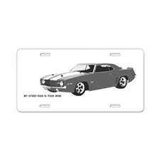 My other ride is your Mom Aluminum License Plate