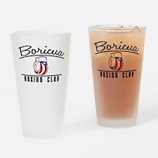 Boricua Boxing Club Drinking Glass