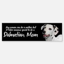 Dalmatian Mom Bumper Bumper Sticker
