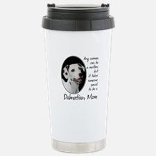 Dalmatian Mom Stainless Steel Travel Mug