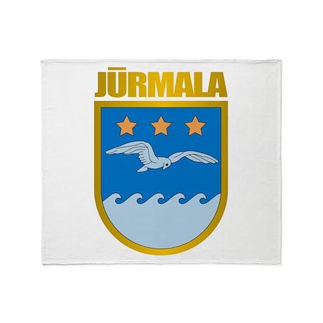 """Jurmala"" Throw Blanket"