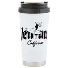 Cute California central coast Travel Mug