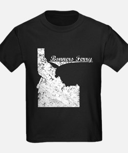 Bonners Ferry, Idaho. Vintage T