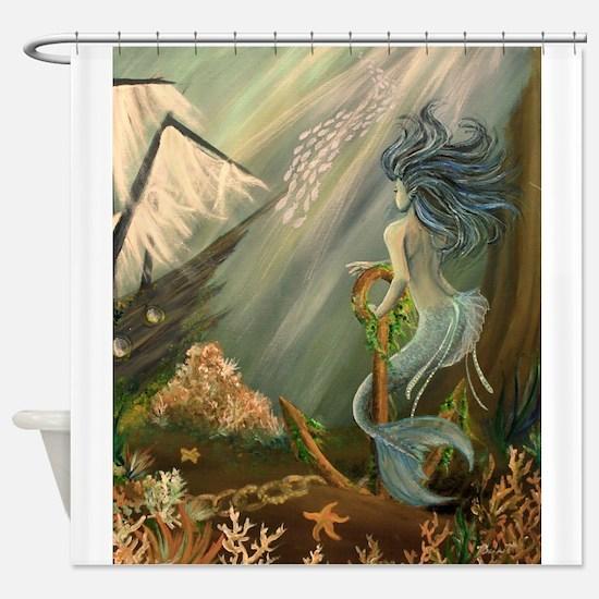 Mysterious Fathoms Shower Curtain