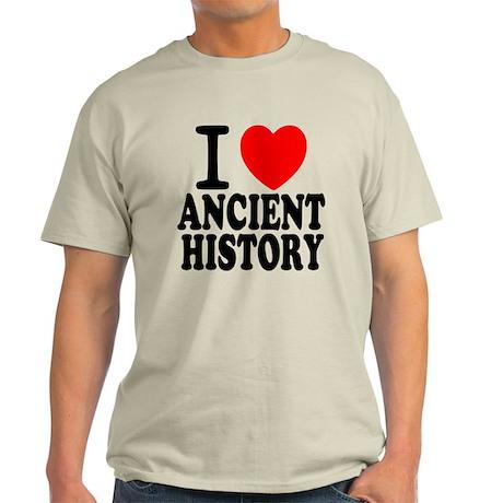 I Love Ancient History Light T-Shirt