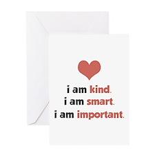 I Am Kind Greeting Card