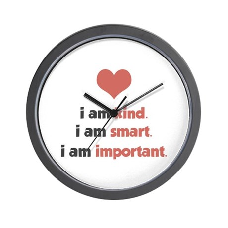 I Am Kind Wall Clock