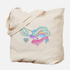 Narwhal Family Tote Bag