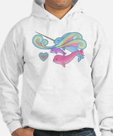 Narwhal Family Hoodie