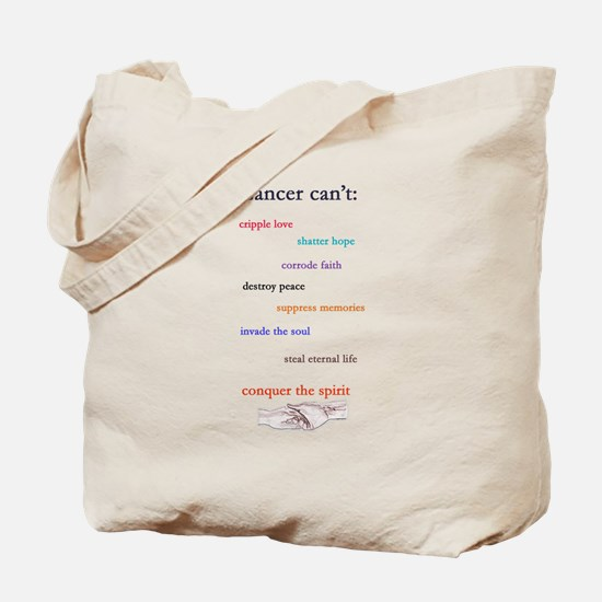 Cancer Can't Tote Bag
