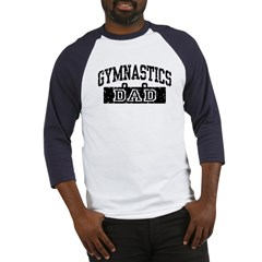 Gymnastics Dad Baseball Jersey